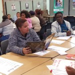Teachers attend a read-aloud seminar