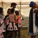 Raising awareness of young children's needs through traditional story telling, or iintsomi.