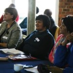 Delegates listened attentively.