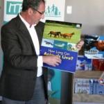 Prof Fleish demonstrates Shared Reading
