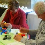 Building a LEGO model