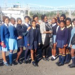 "Visiting the East London Port on ""Take a Girl Child to Work"" Day"