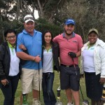 Golfers and ITEC staff