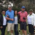 Golfers and ITEC staff