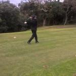 Golfing in beautiful surroundings