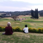 A lovely, relaxing view of the course