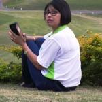 Caroll, ITEC MD, relaxing