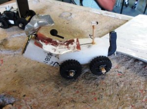 A home made moon buggy