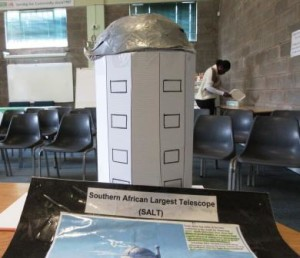 A model of the South African Large Telescope