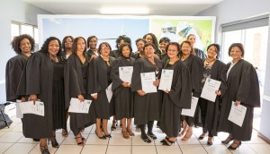 Proud graduates who are now qualified ECD Practitioners